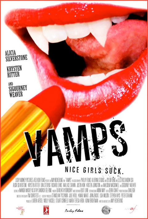 Amy Heckerling's Vamps Teaser Poster