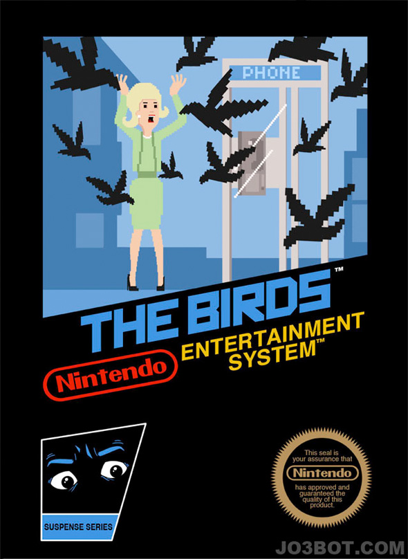 8-Bit Hitchcock - The Birds