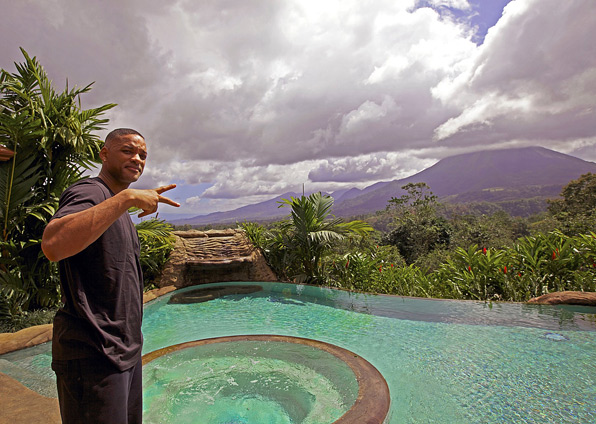 After Earth Set Photos