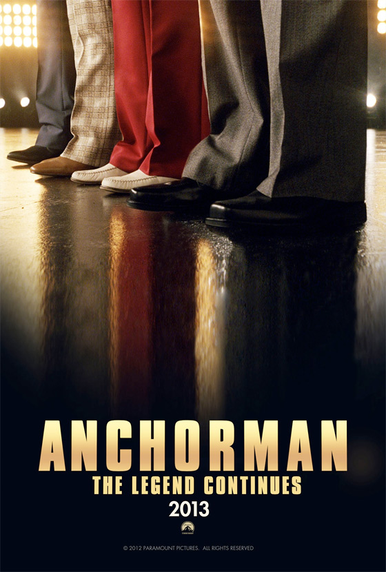 Anchorman: The Legend Continues Teaser Poster