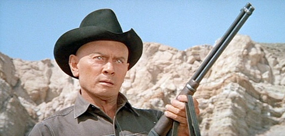 Yul Brynner from Westworld