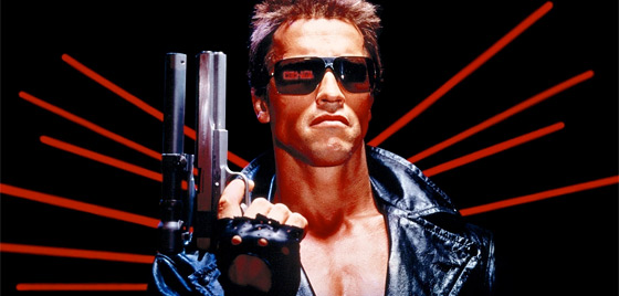 The Terminator from The Terminator