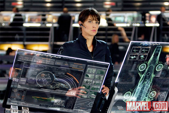 Cobie Smulders in The Avengers Photos