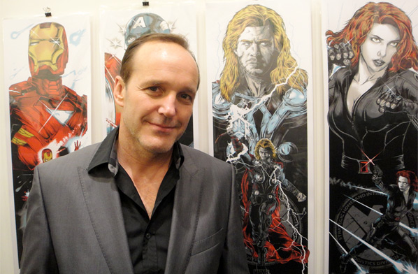 Clark Gregg Avengers Artwork