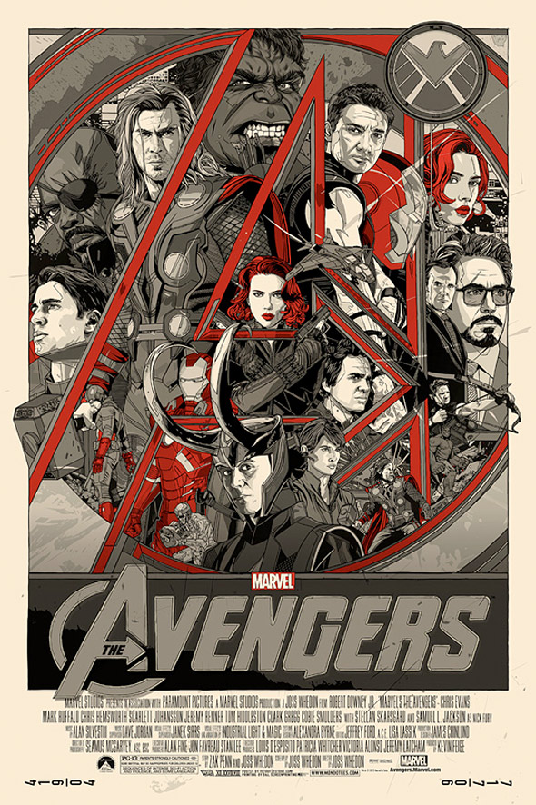 Tyler Stout's The Avengers
