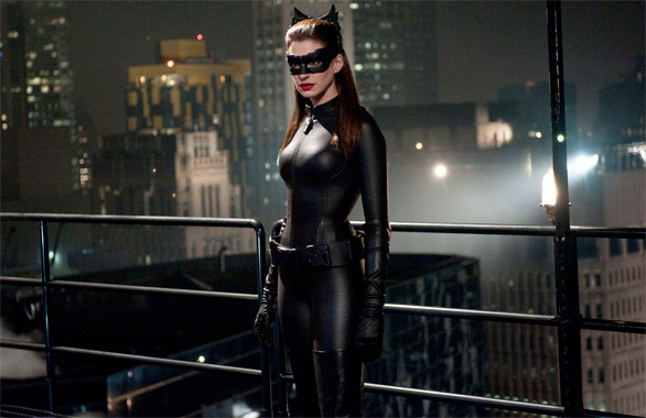 Selina Kyle in The Dark Knight Rises
