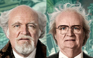 Jim Broadbent in Cloud Atlas