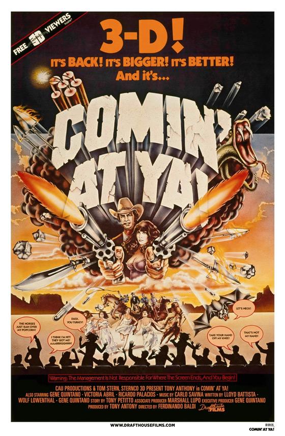 Comin' at Ya! 3D Poster