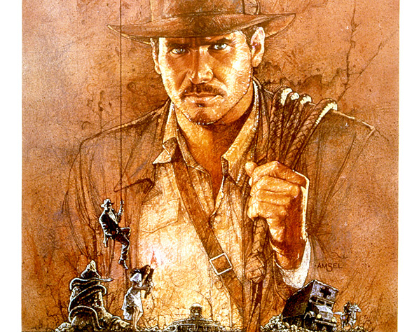 Drew Struzan Indiana Jones