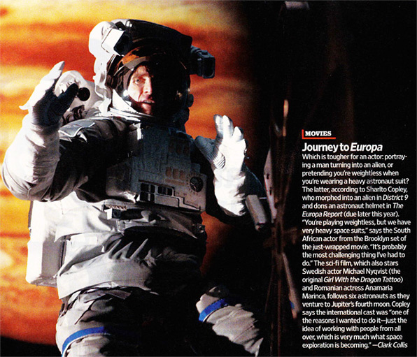 The Europa Report Scan
