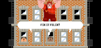 Fix-It Felix - Wreck-It Ralph