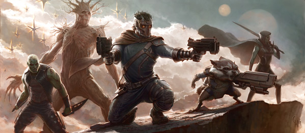 Guardians of the Galaxy - Concept Art