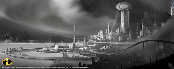 The Incredibles 2 Concept Art