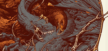 Return of the King Aaron Horkey Poster