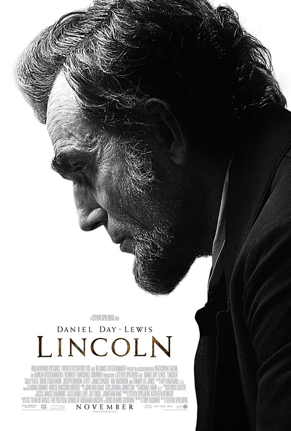First Bland B Amp W Poster For Steven Spielberg S Lincoln