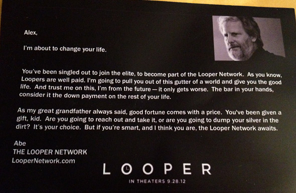Looper Network Metal Viral Note