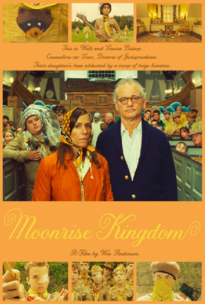 Bill Murray & Frances McDormand - Moonrise Kingdom