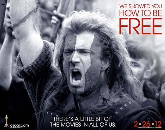Oscars Celebrate the Movies - Braveheart