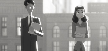 Paperman Short