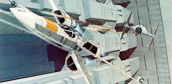 Ralph McQuarrie Star Wars Art