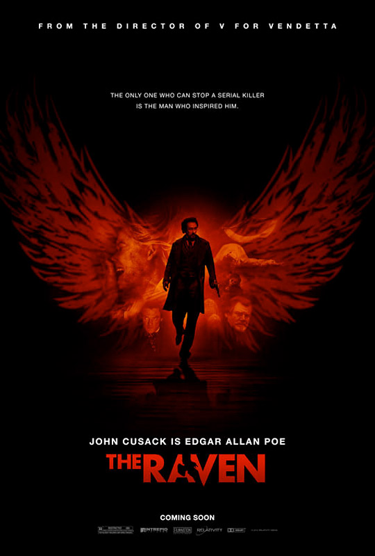 James McTeigue's The Raven Poster