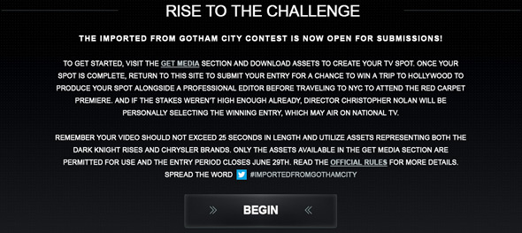 Imported from Gotham City Contest