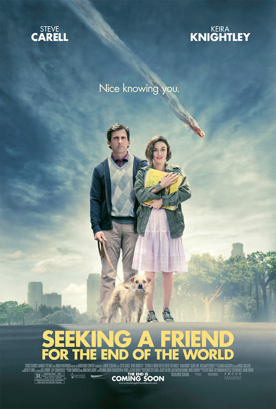 Seeking a Friend for the End of the World Teaser Poster