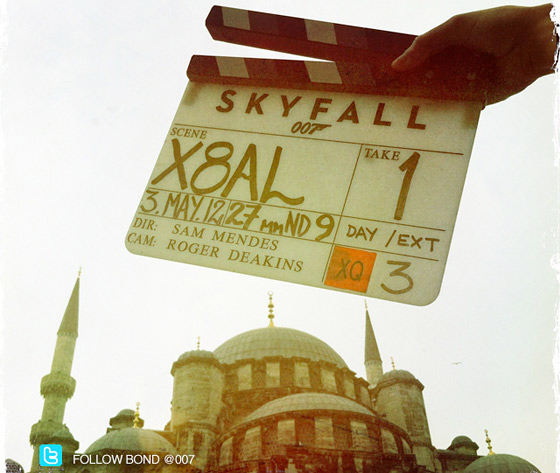 Skyfall in Istanbul Photo