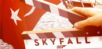 Skyfall in Turkey