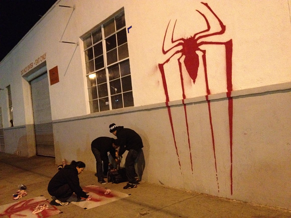 Mark of the Spider-Man Tagging
