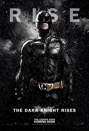 The Dark Knight Rises Poster - Batman