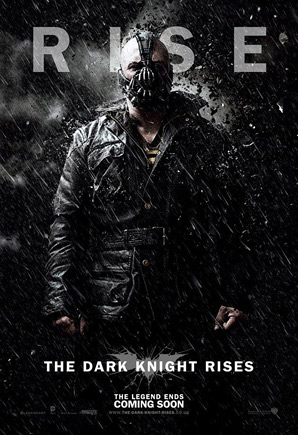 The Dark Knight Rises Poster - Bane