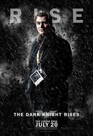 The Dark Knight Rises Poster - Christopher Nolan