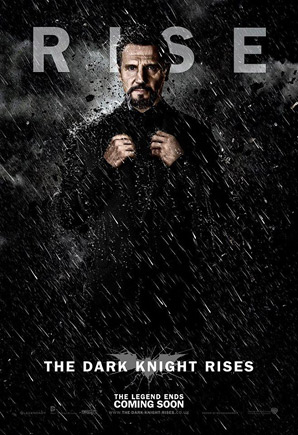 The Dark Knight Rises Poster - Ra's Al Ghul