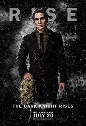 The Dark Knight Rises Poster - Scarecrow