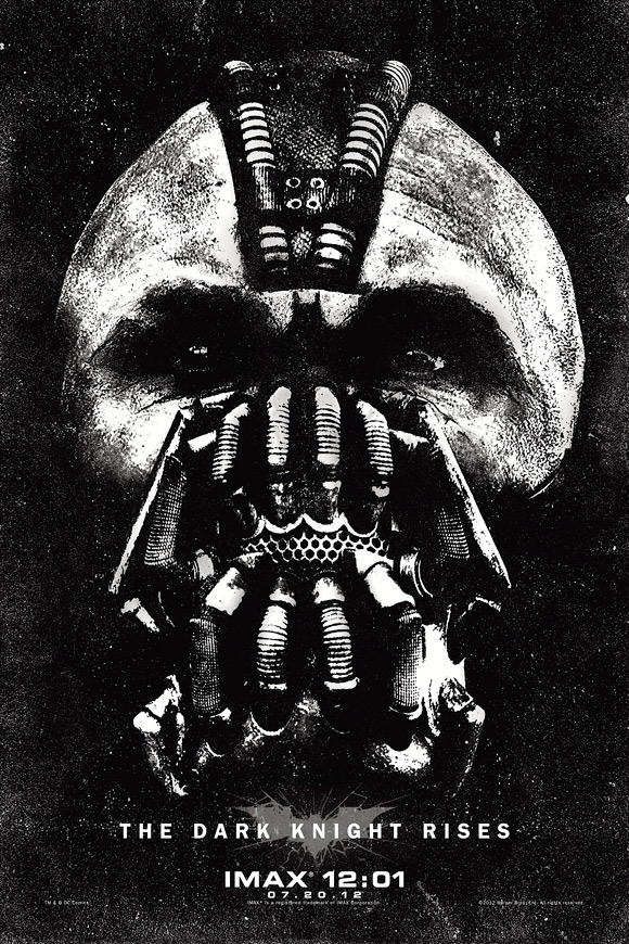 The Dark Knight Rises IMAX Bane Poster