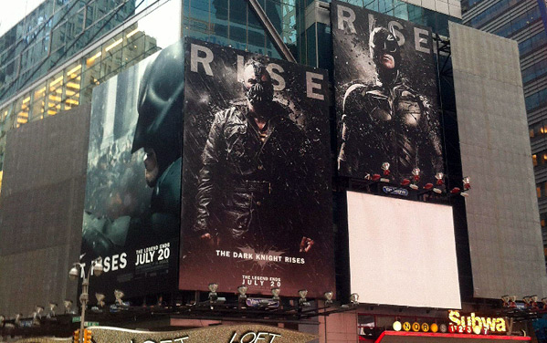 The Dark Knight Rises Marketing