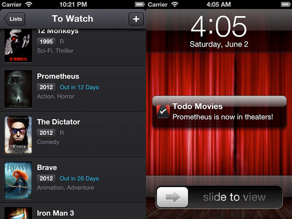 Todo Movies App