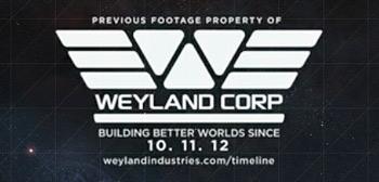 Prometheus End Credits Tag - Weyland Corp