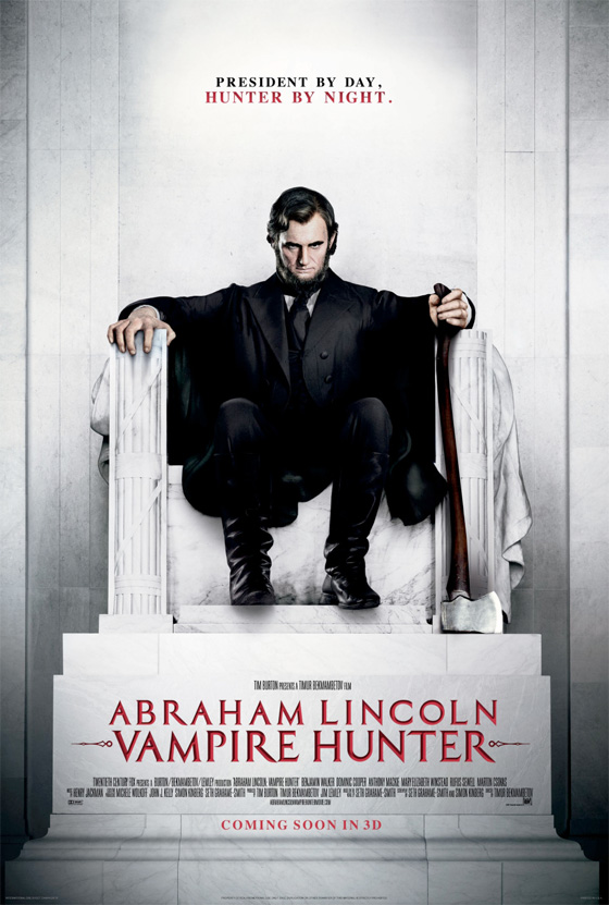 Abraham Lincoln: Vampire Hunter - Memorial Poster