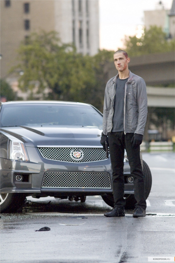 Alex Cross - First Look - Matthew Fox Looking Crazy with a Car