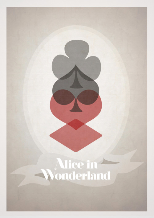 Alternative Disney Poster - Alice in Wonderland