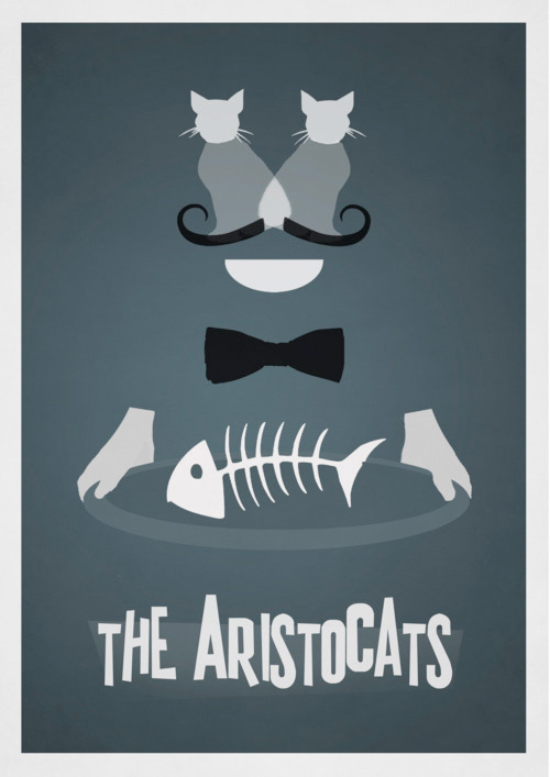 Alternative Disney Poster - The Aristocats
