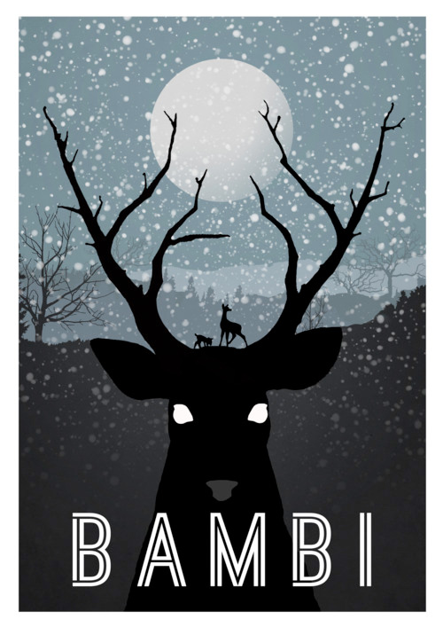 Alternative Disney Poster - Bambi