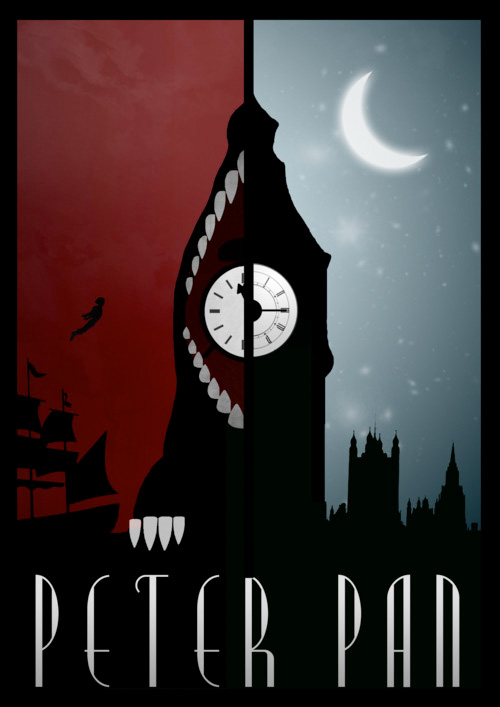 Alternative Disney Poster - Peter Pan