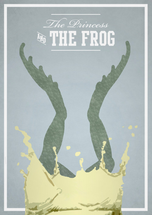Alternative Disney Poster - The Princess and the Frog