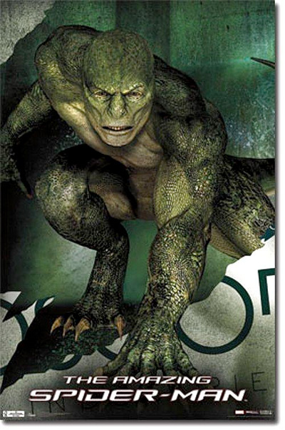The Amazing Spider-Man - Lizard Promo Poster