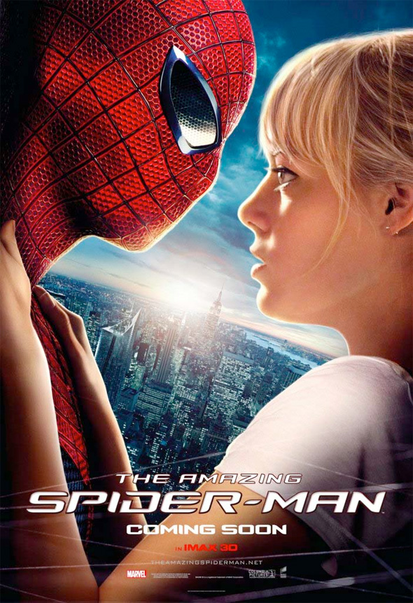 The Amazing Spider-Man - Spidey and Gwen Poster