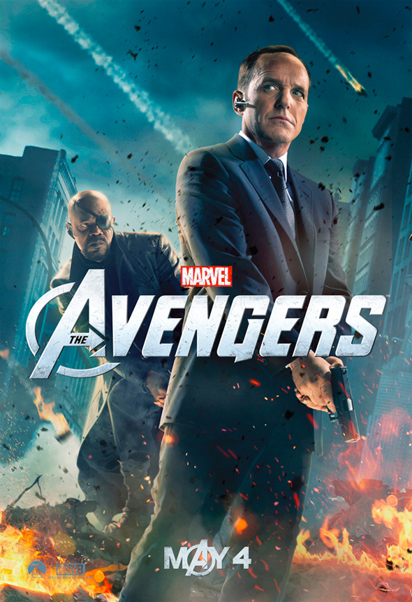The Avengers - Agent Coulson Poster