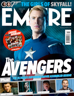 Captain America Empire Cover